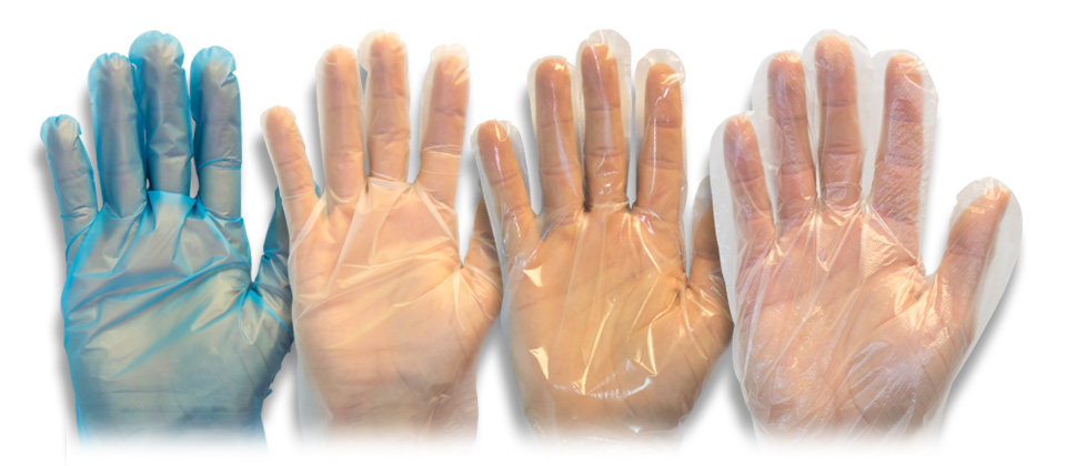Safety Zone 187 Polyethylene Pe Gloves